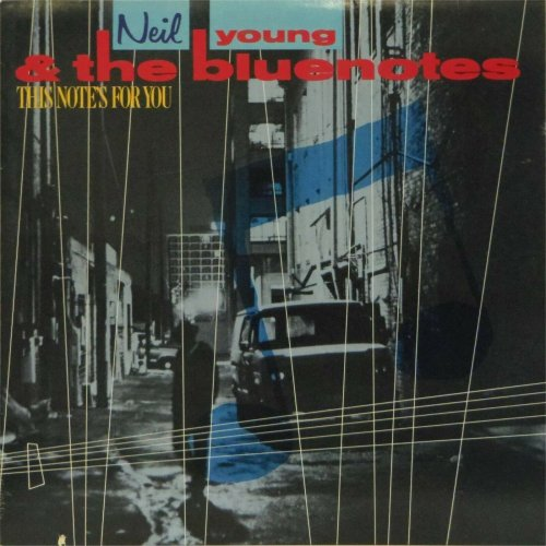 Neil Young & The Bluenotes<br>This Note's For You<br>LP