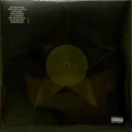 David Bowie<br>Blackstar<br>New release on 180 gram vinyl<br>LP