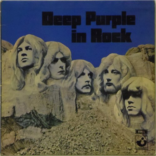 Deep Purple<br>Deep Purple In Rock<br>LP (UK pressing)