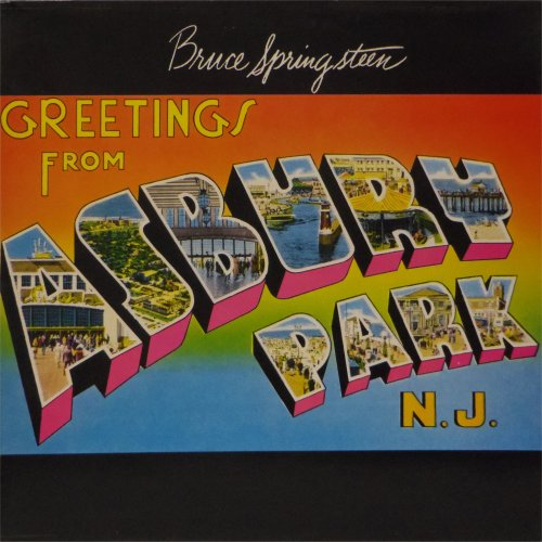 Bruce Springsteen<br>Greetings From Asbury Park NJ<br>LP