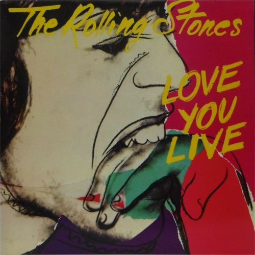 The Rolling Stones<br>Love You Live<br>Double LP (UK pressing)