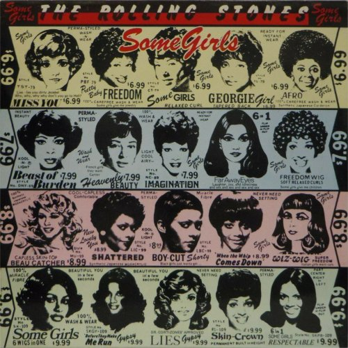 The Rolling Stones<br>Some Girls<br>LP (UK pressing)