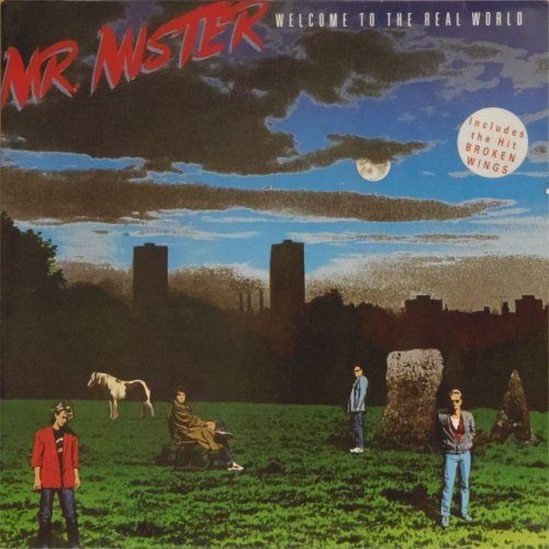 Mr Mister<br>Welcome To The Real World<br>LP