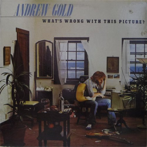 Andrew Gold<br>What's Wrong With This Picture<br>LP