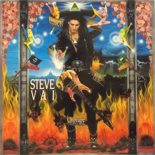 Steve Vai<br>Passion and Warfare<br>LP (UK pressing)
