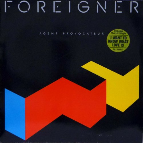 Foreigner<br>Agent Provocateur<br>LP (GERMAN pressing)
