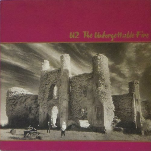 U2<br>The Unforgettable Fire<br>LP